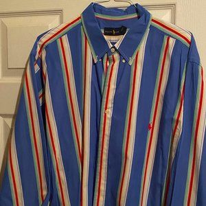 Striped Ralph Lauren Button Down